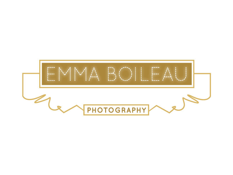 Wedding Photography Logo & Website Design for Emma Boileau - Manchester