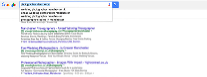 How to research keywords for SEO for photographers