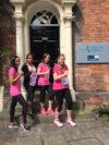 Team MAG Nathalie Needham, Sophie Keatley, Harpreet Kaur and Leanne Harle