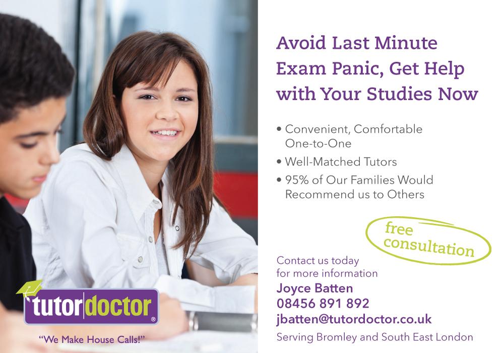 2014-06-TD-Bromley-Postcard---3-Last-Minute-Exam-Panic