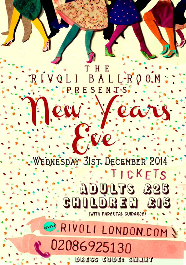 NEW YEAR\'S EVE: Have A Ball at The Rivoli! | Our Hither Green
