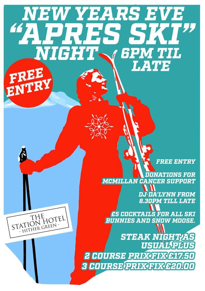 station Hotel NYE poster v2