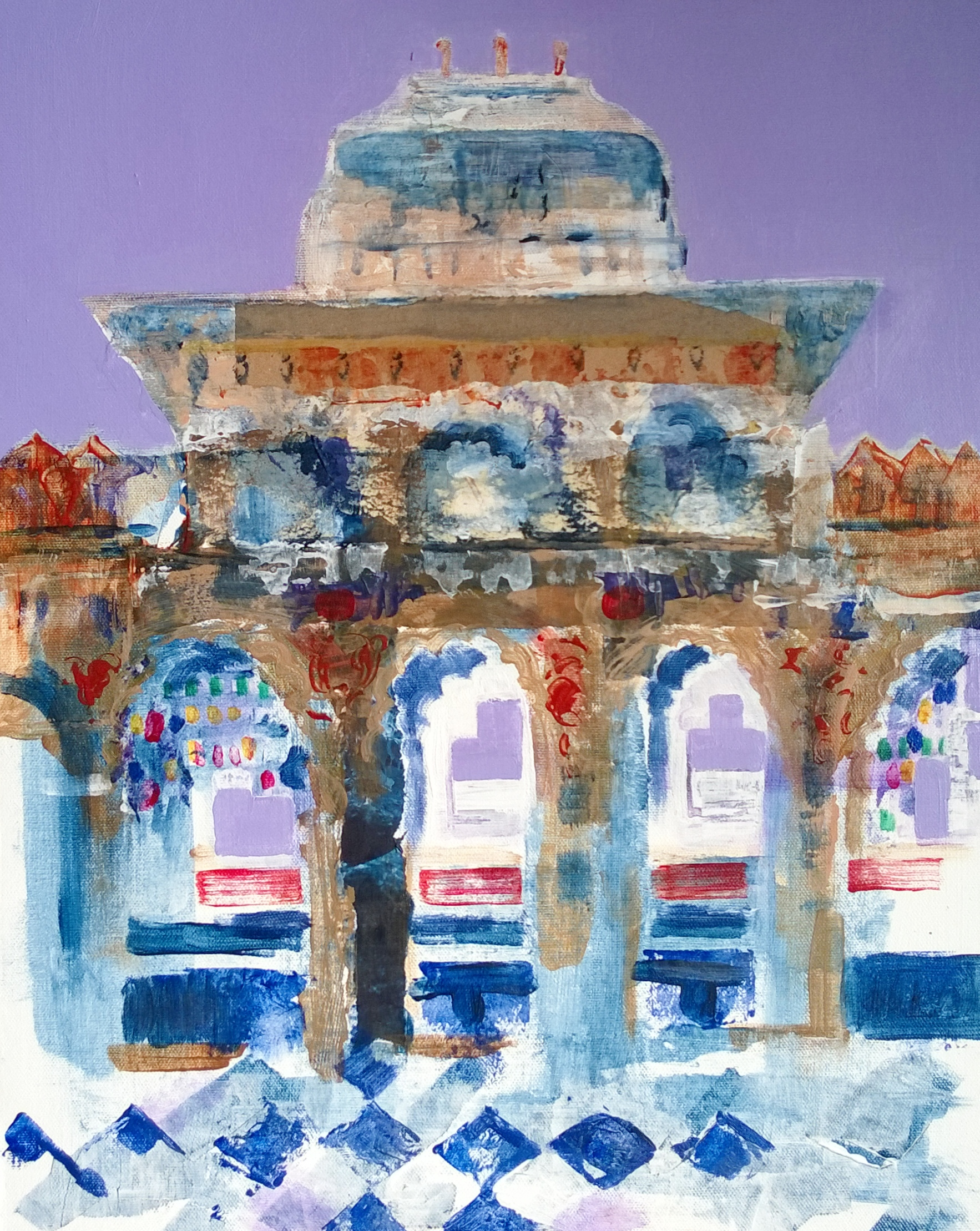 Jane Pickersgill Udaipur for Lee Green Open Studios