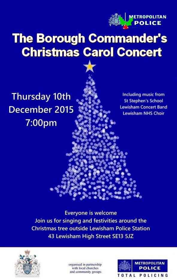 Police Carol Concert 2015