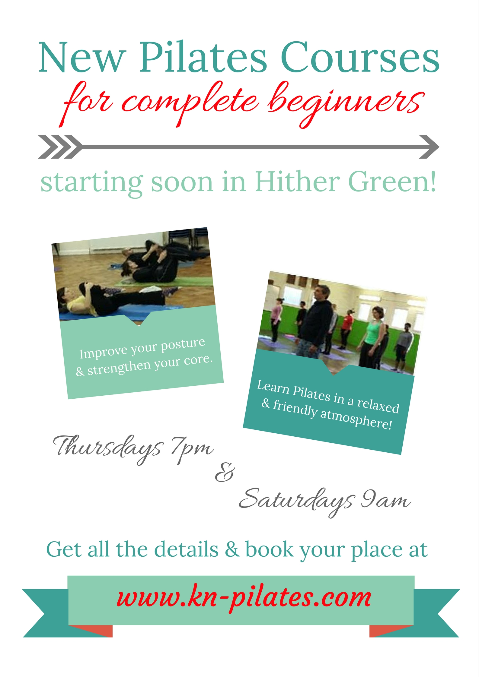 New Pilates Course