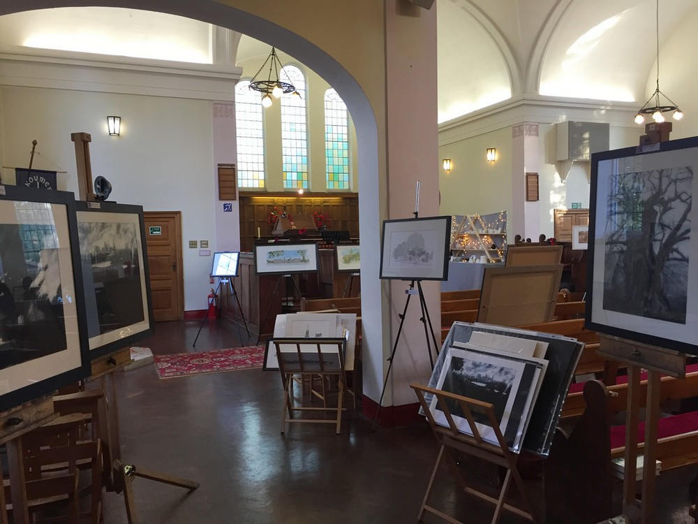 kevin-radford-drawing-painting-church-of-the-good-shepherd-handen-road