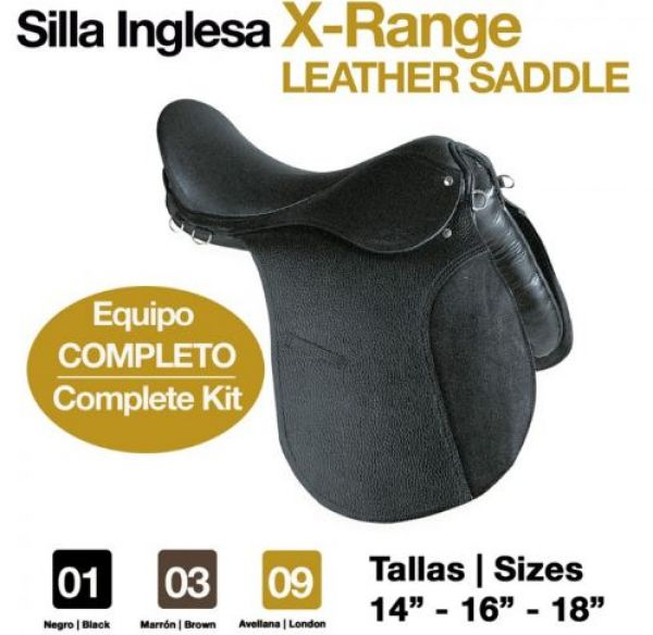 Equipo completo silla inglesa x range - Silla de montar inglesa ...