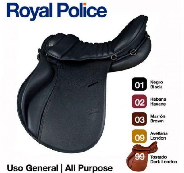 Silla inglesa uso general royal police zaldi - Silla de montar espanola ...
