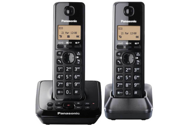 Add to wish list Add to compare list : Panasonic Twin Cordless Home Phonea from www.harveynorman.ie size 1500 x 1000 jpeg 73kB