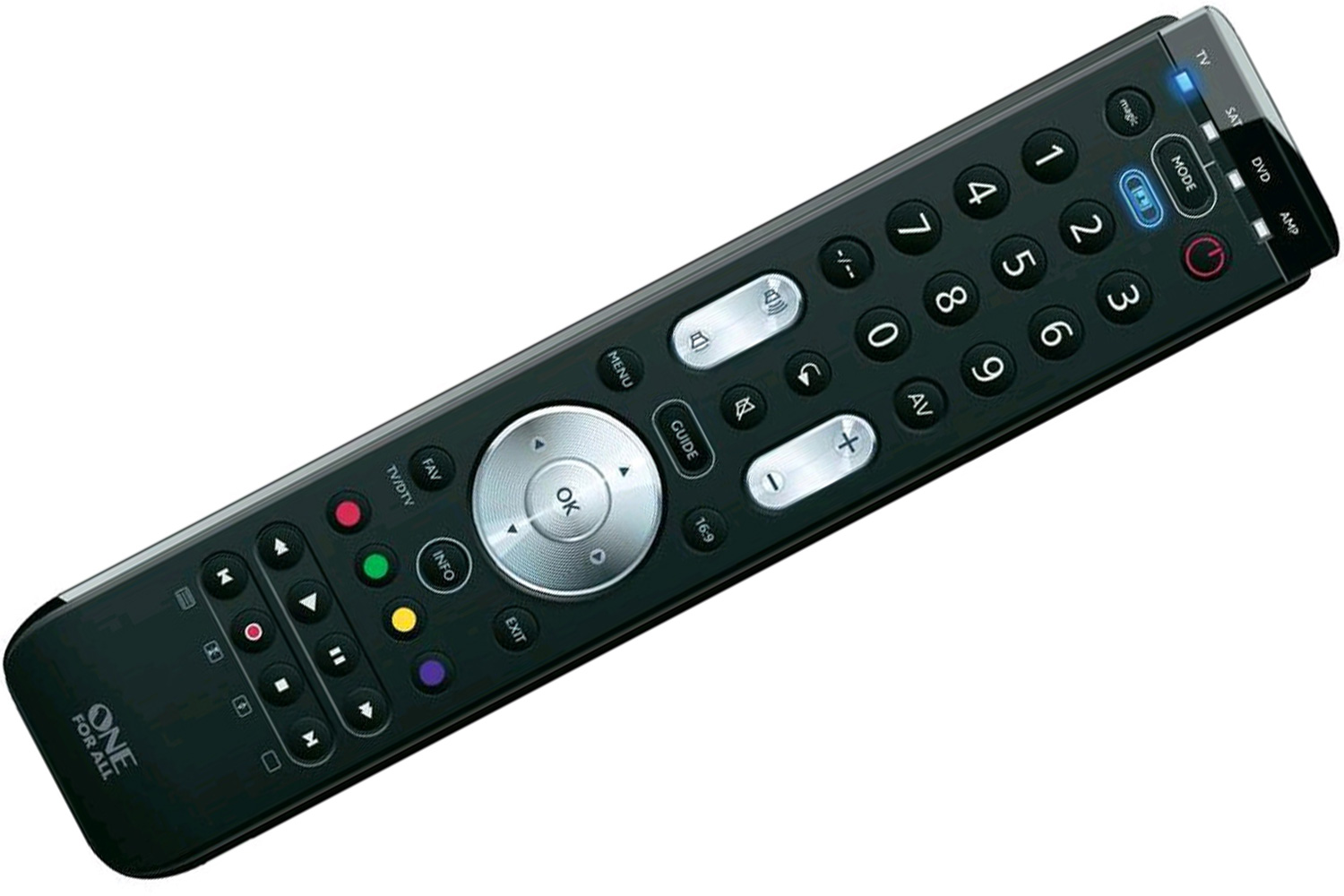 One For All Universal Remote 4 Device Ireland : URC7140a from www.harveynorman.ie size 1500 x 1000 jpeg 184kB
