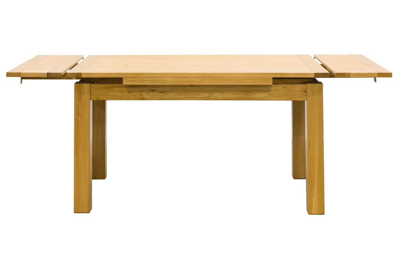 Hillary oak extending dining table 140cm ireland for Oak extending dining table