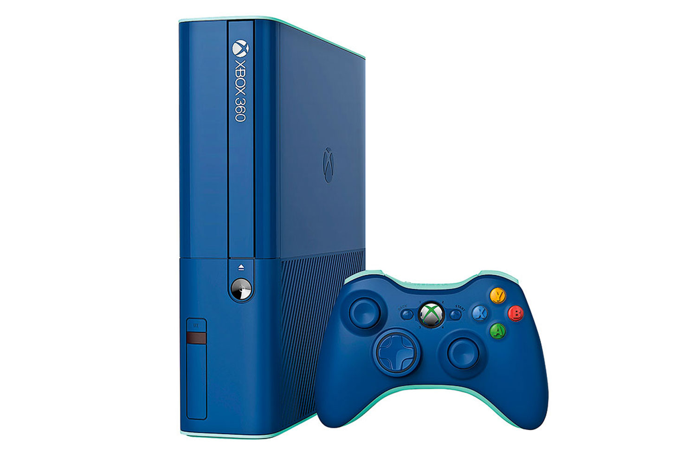 Xbox 360 500GB Blue Edition ConsoleXbox 360 Slim Blue