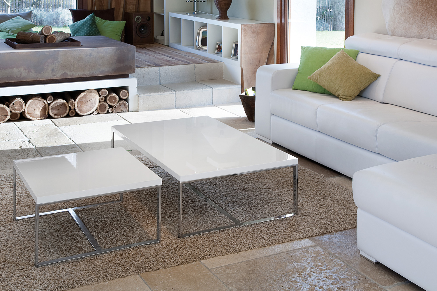 Sushi Square Coffee Table White Ireland