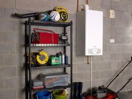 Baxi Ecogen Installed within a Garage