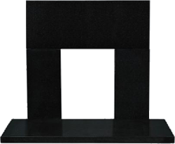 Solo-Pro Hearth in Black