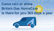 British Gas Heating Cover