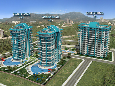 angels home mahmutlar alanya