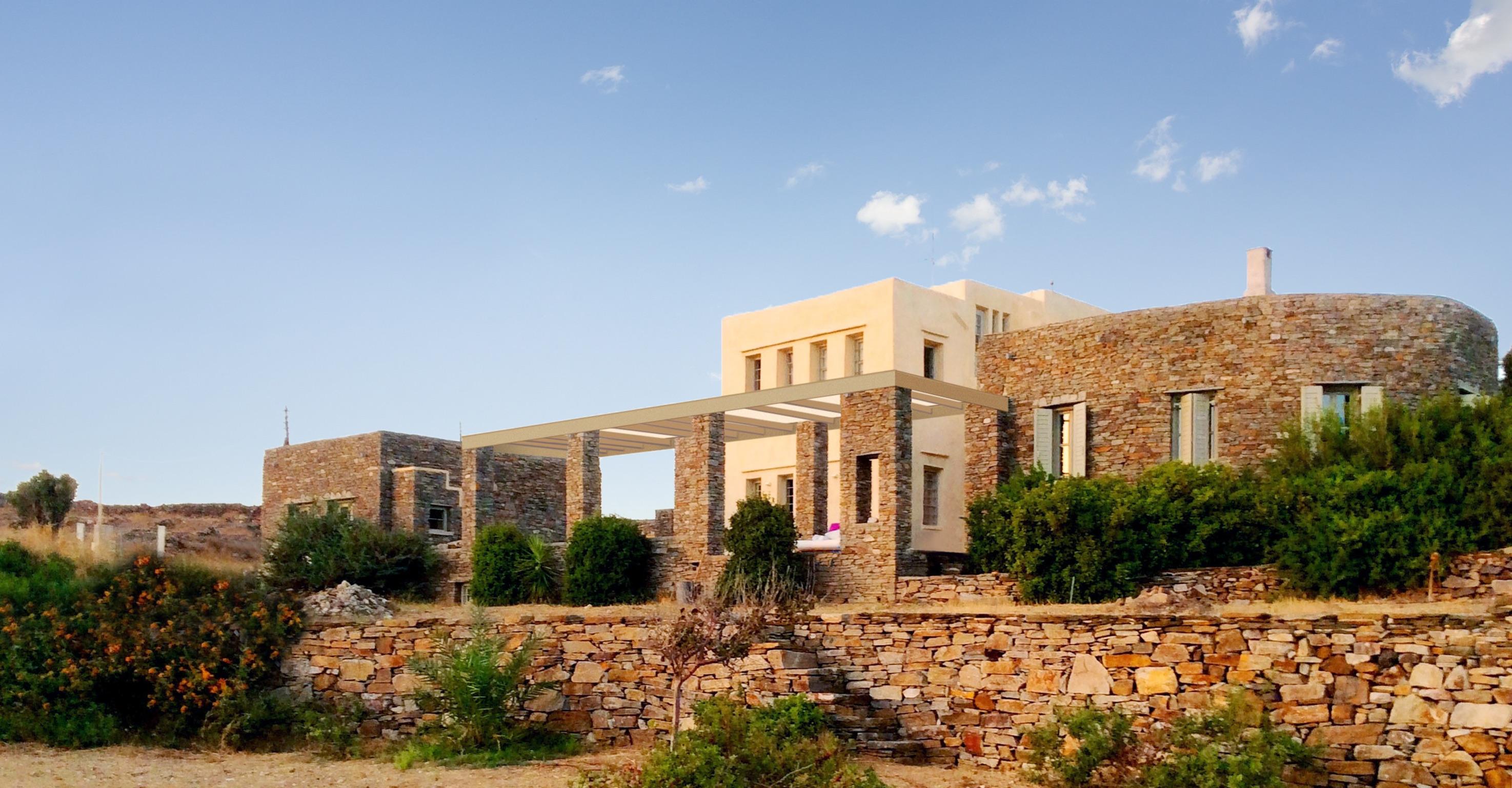 Ferienhaus Luxuriöse Villa und Gästehaus mit WLAN, Pool und Blick auf den Sonnenuntergang im Ägäische (2202206), Siphnos, Sifnos, Kykladen, Griechenland, Bild 3