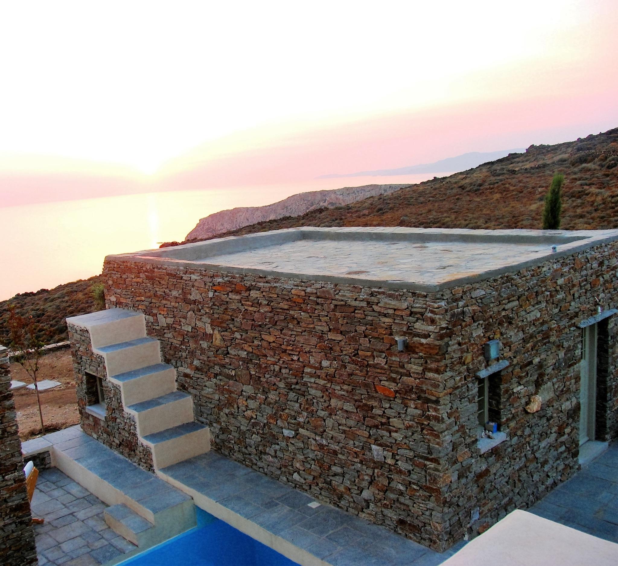 Ferienhaus Luxuriöse Villa und Gästehaus mit WLAN, Pool und Blick auf den Sonnenuntergang im Ägäische (2202206), Siphnos, Sifnos, Kykladen, Griechenland, Bild 32