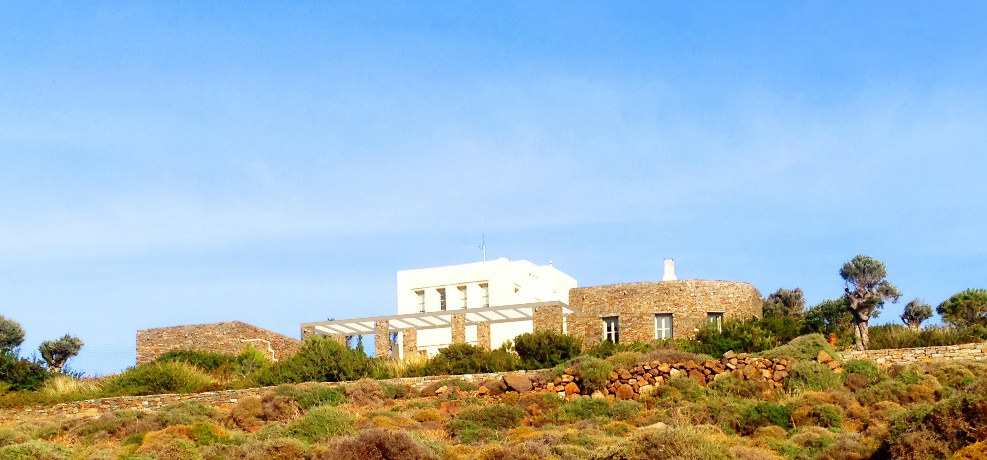 Ferienhaus Luxuriöse Villa und Gästehaus mit WLAN, Pool und Blick auf den Sonnenuntergang im Ägäische (2202206), Siphnos, Sifnos, Kykladen, Griechenland, Bild 33