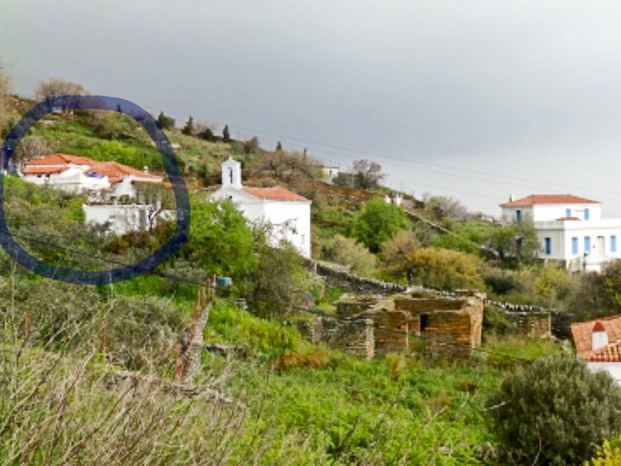 Ferienhaus Großes Haus in Ypsila mit vier Schlafzimmern und möblierter Terrasse - 4,5 km vom Meer ent (2201790), Andros, Andros, Kykladen, Griechenland, Bild 2