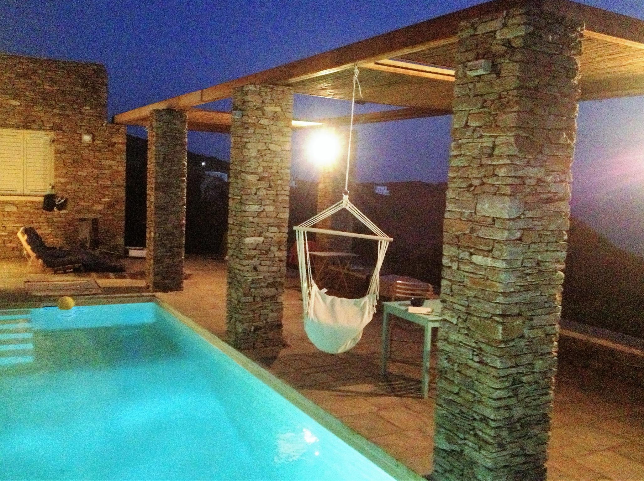 Ferienhaus Luxuriöse Villa und Gästehaus mit WLAN, Pool und Blick auf den Sonnenuntergang im Ägäische (2202206), Siphnos, Sifnos, Kykladen, Griechenland, Bild 24