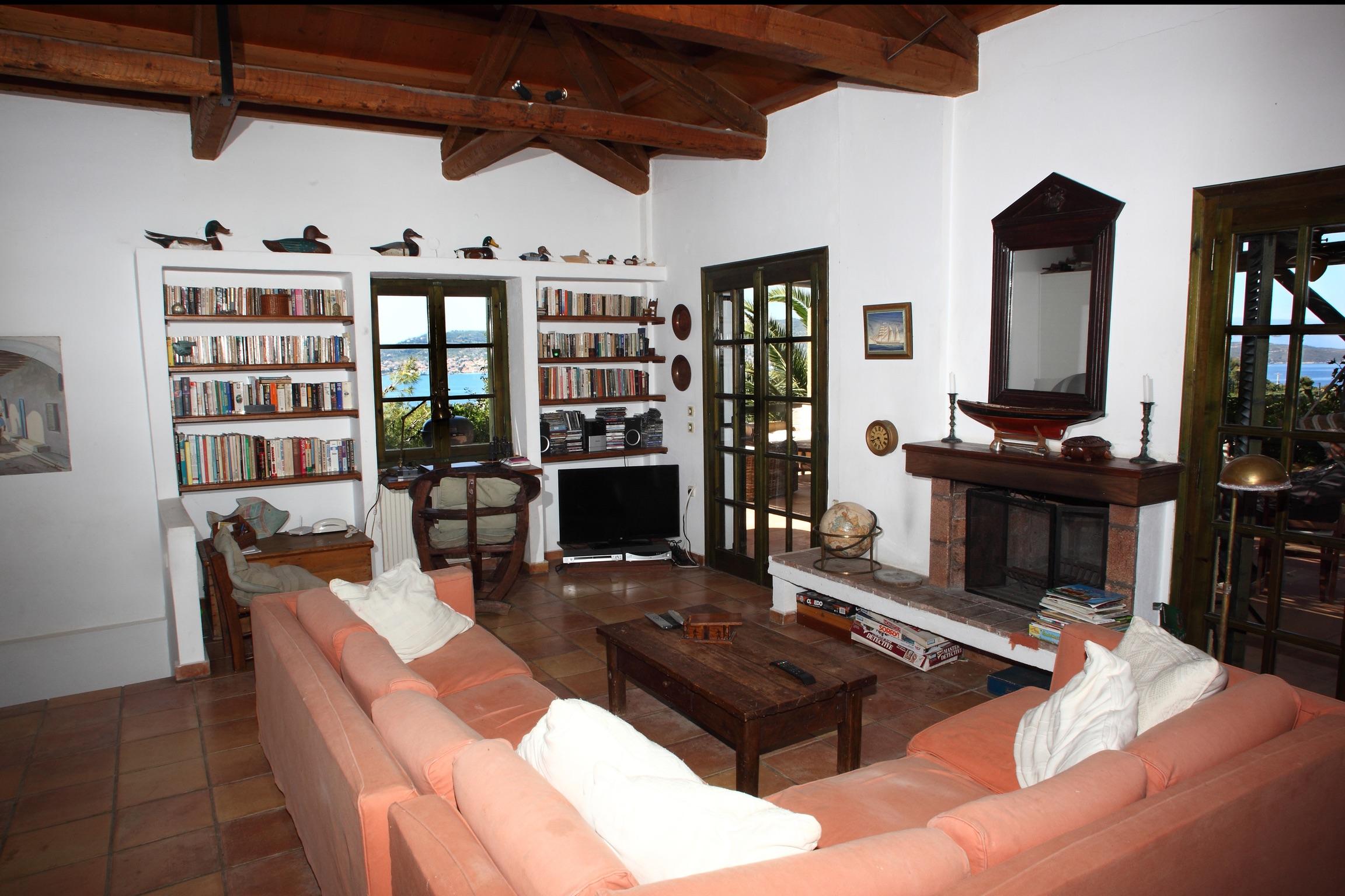 Ferienhaus Villa mit 4 Zimmern in Kosta mit herrlichem Meerblick, privatem Pool, eingezäuntem Garten  (2271451), Kosta (GR), , Peloponnes, Griechenland, Bild 5