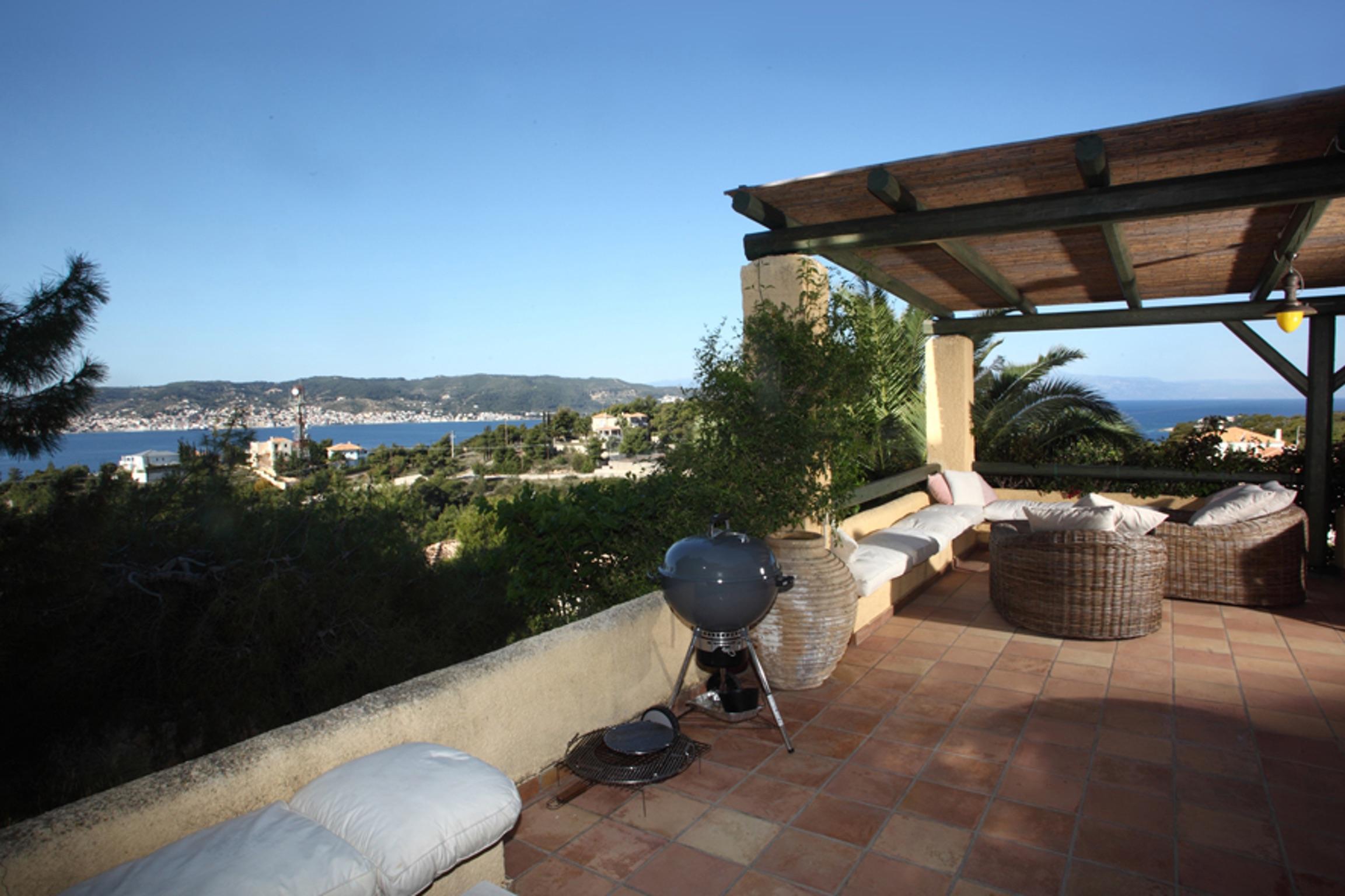 Ferienhaus Villa mit 4 Zimmern in Kosta mit herrlichem Meerblick, privatem Pool, eingezäuntem Garten  (2271451), Kosta (GR), , Peloponnes, Griechenland, Bild 18