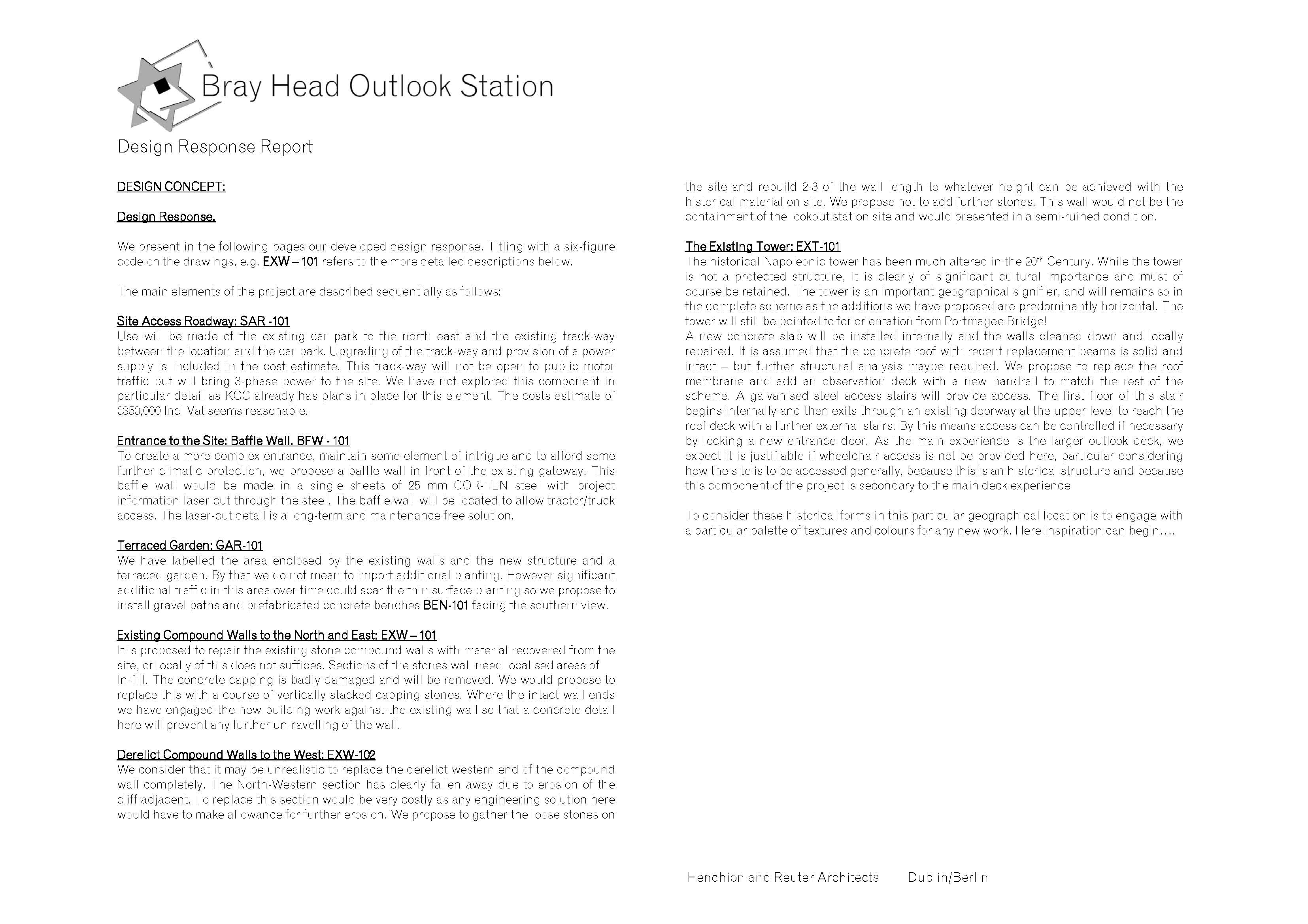 y Head Outlook Station - Henchion Reuter Architects Page on