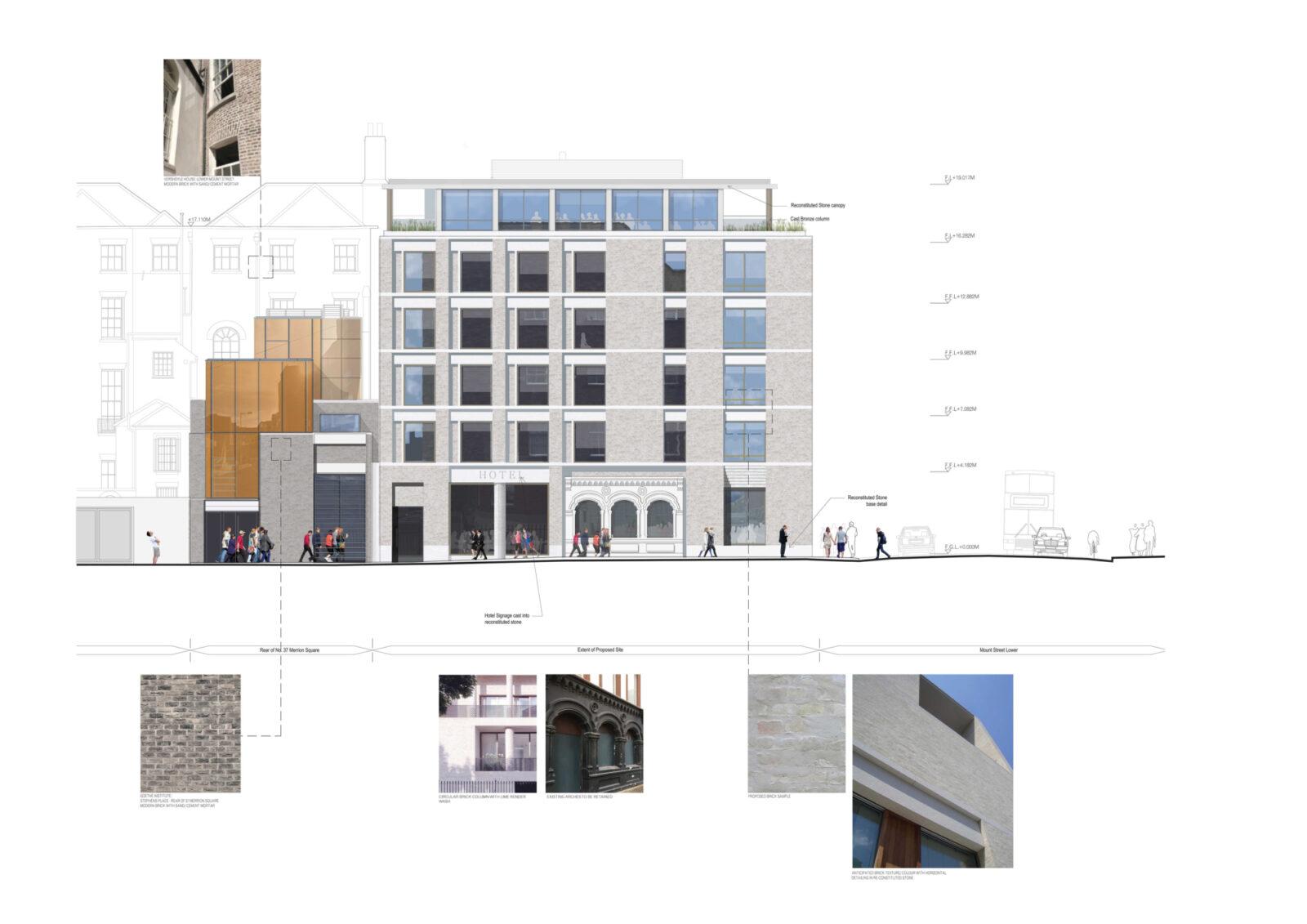 Fassaden - / Materialstudien