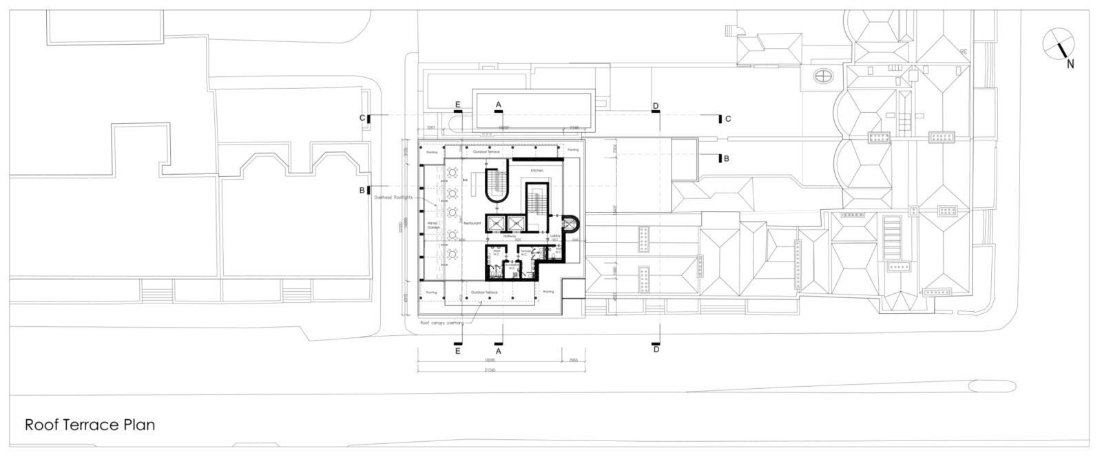 Msh Roof Terrace Plan