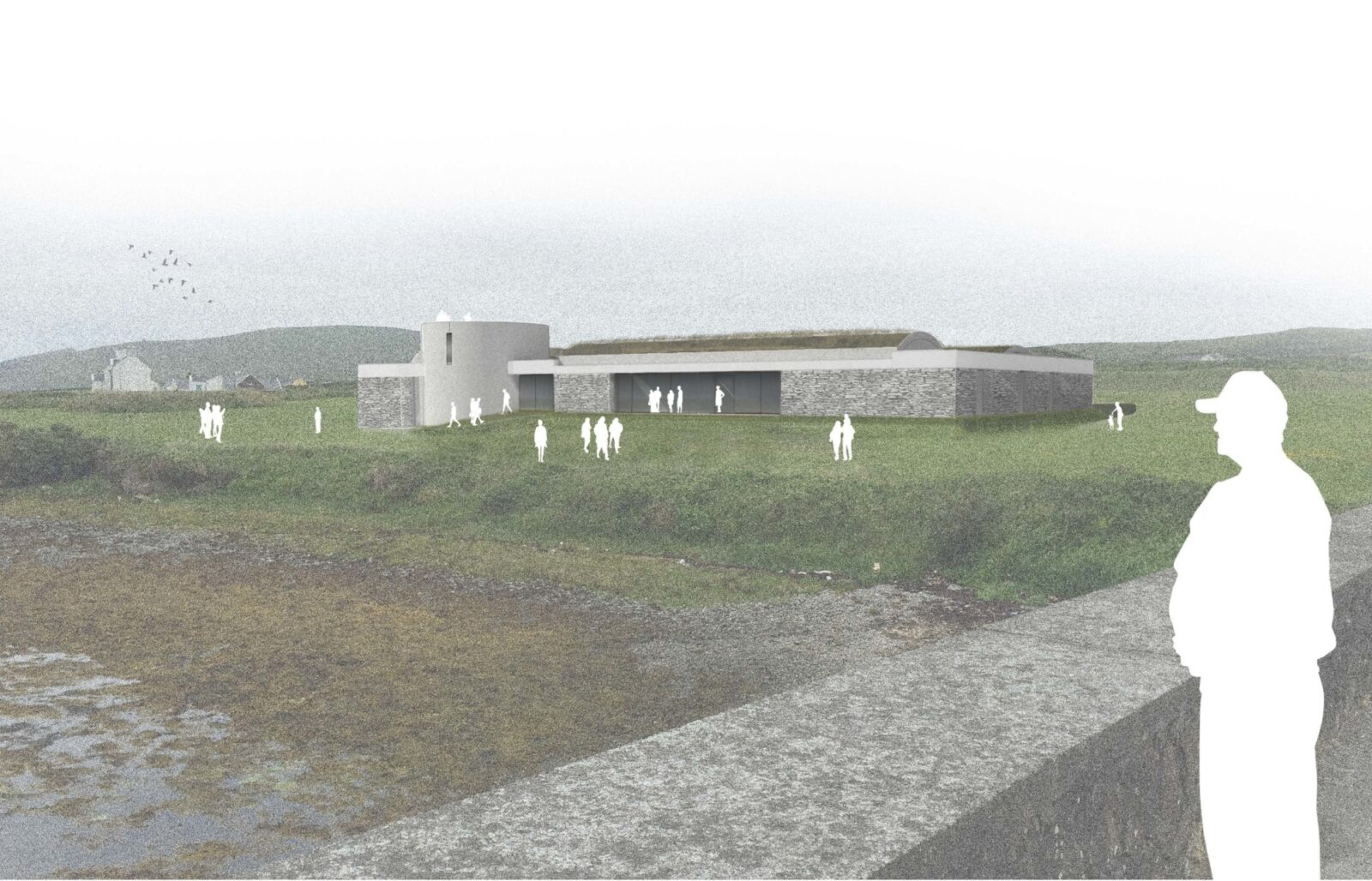 Proposed view from Northeast