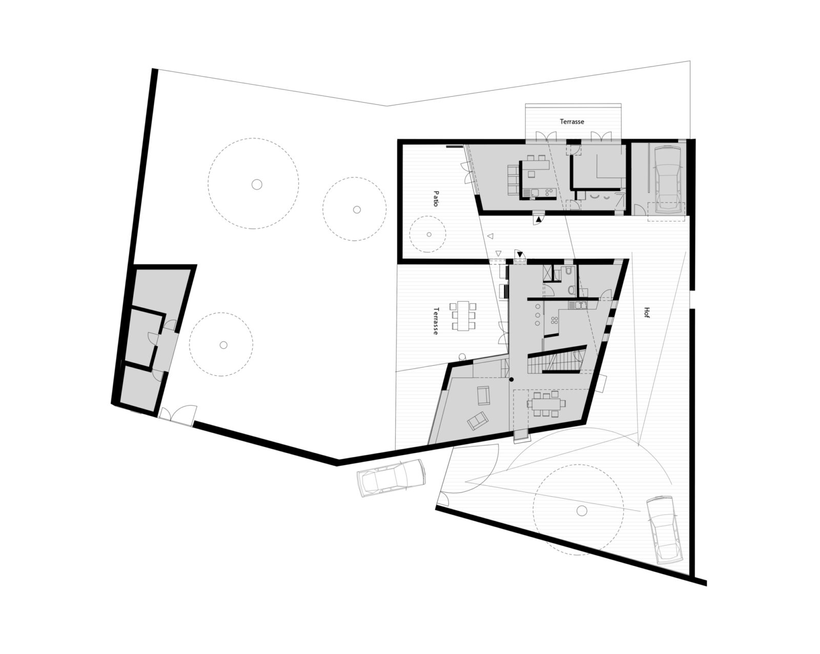 Wall House Ground Floor Plan