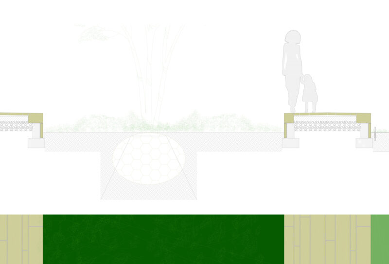Detail Baumplattte