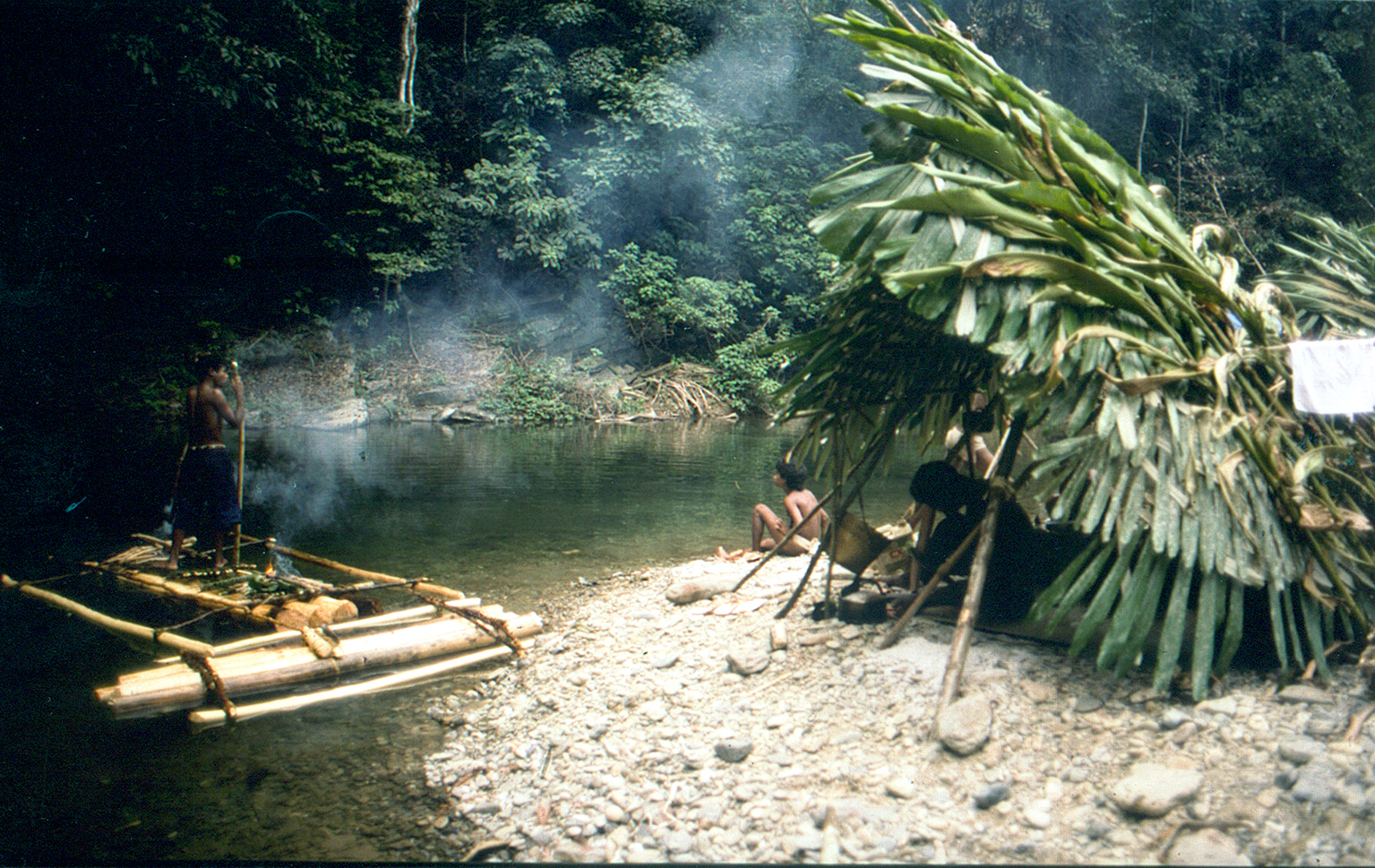 Camping on tanabag river copia