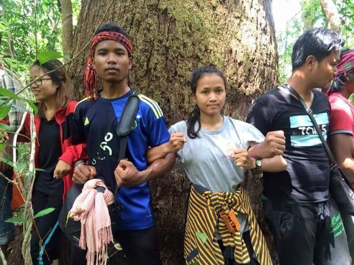 Plcn and urban youth protecting tree plcn
