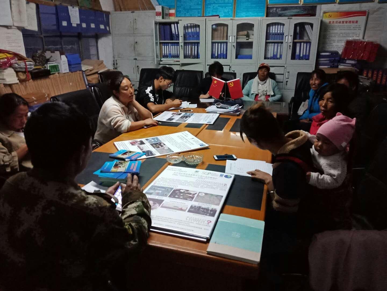 Community team meeting