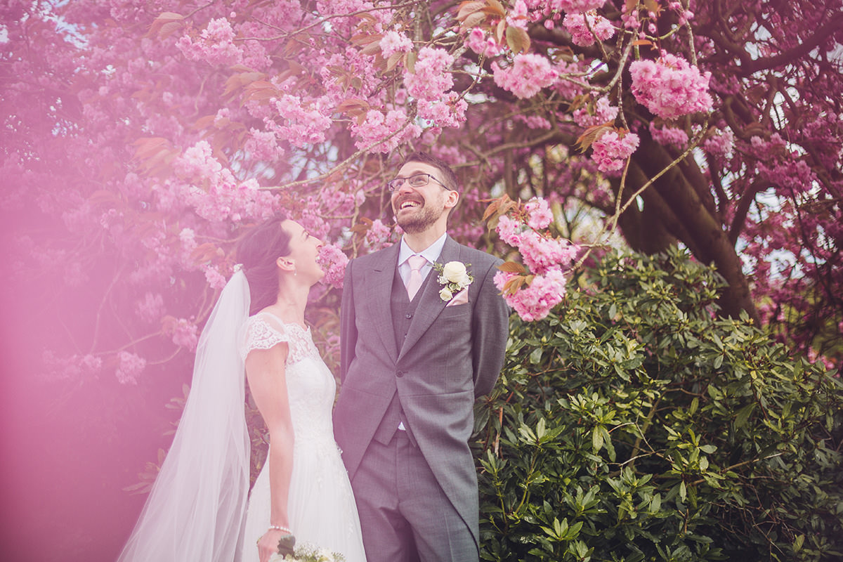 Creative Bride and Groom Photo Shoot Wedding Portrait Photography Arley Hall Manchester and Cheshire Wedding Photographer