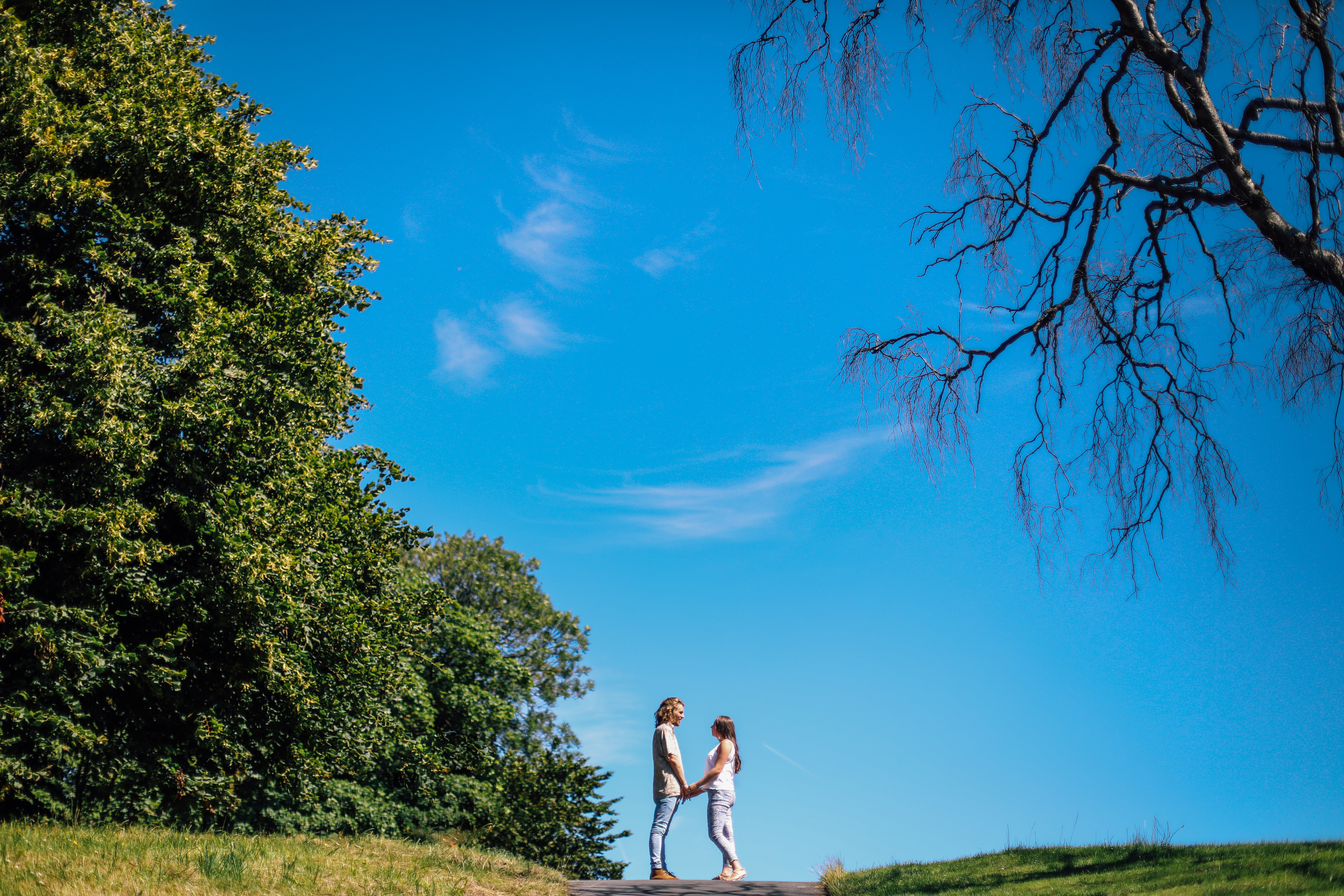 Creative Engagement Photography Shoot Sefton Park Liverpool Manchester and Cheshire Wedding Photographer