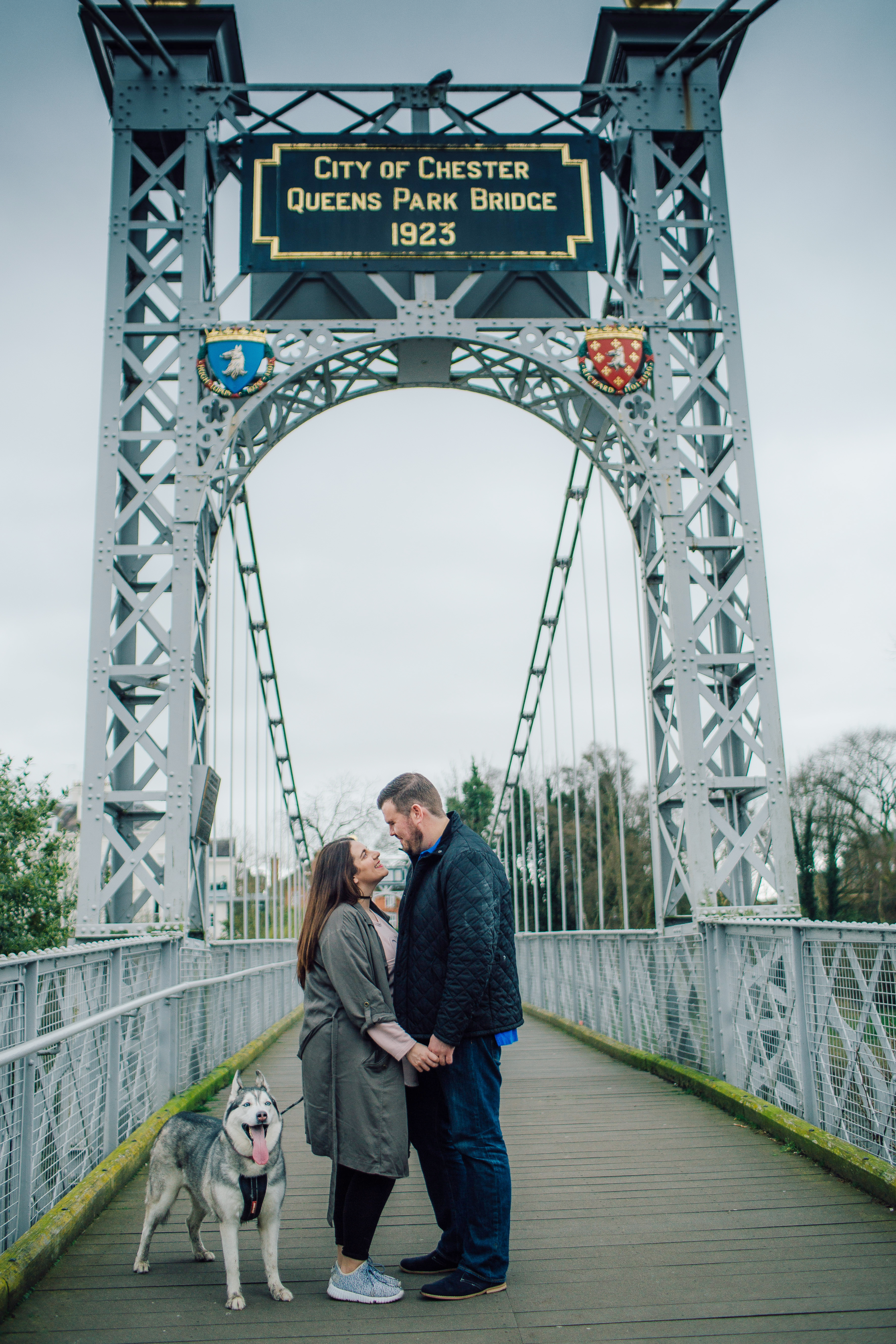 Creative Engagement Wedding Photography Shoot Chester
