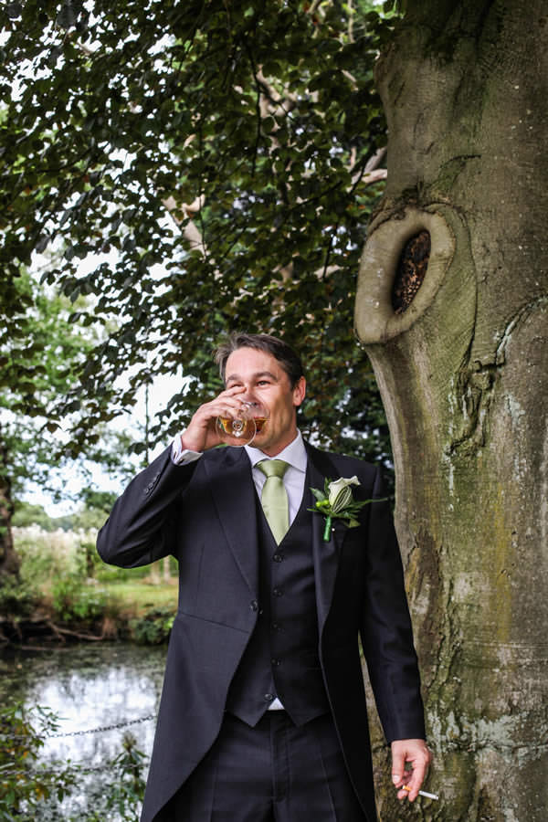 Pre Ceremony Drinks at Mere Court Hotel Wedding Photography Manchester