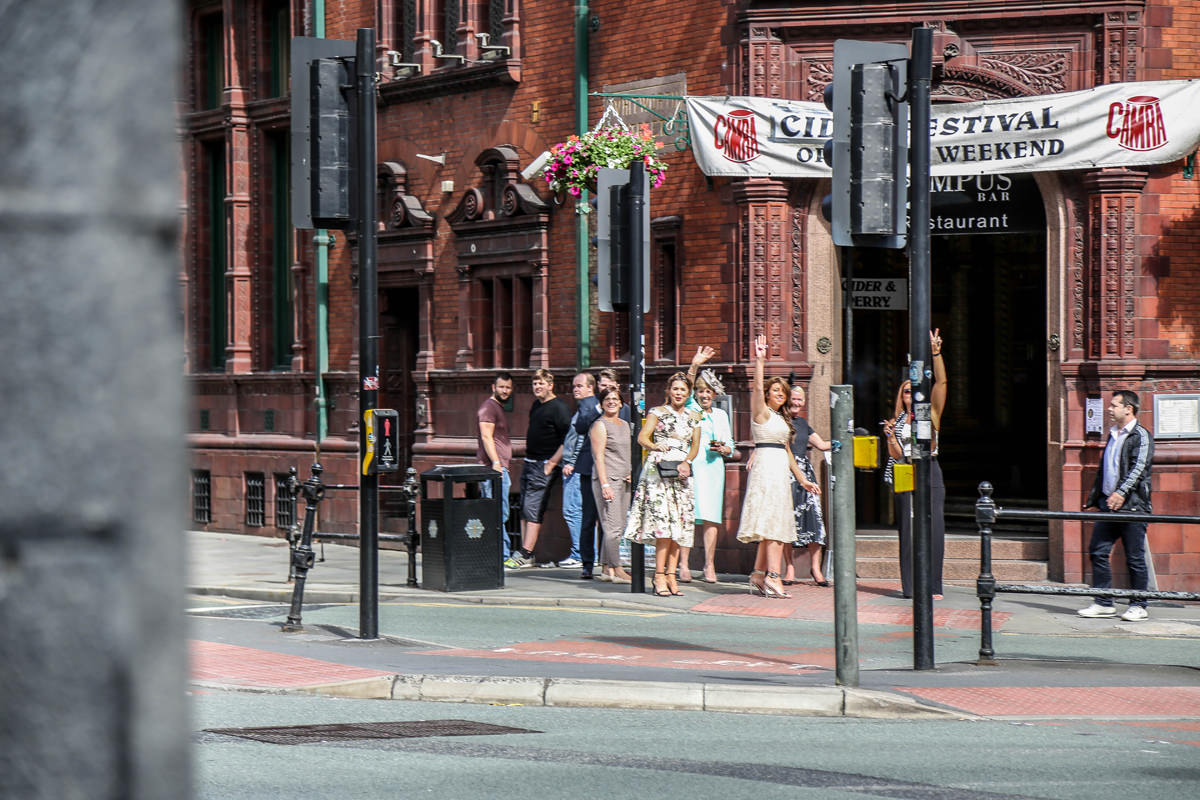 Urban Wedding Photography Manchester