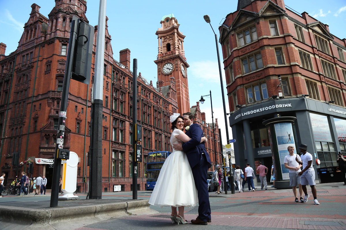 Urban Wedding. Wedding Photographer Manchester and Cheshire
