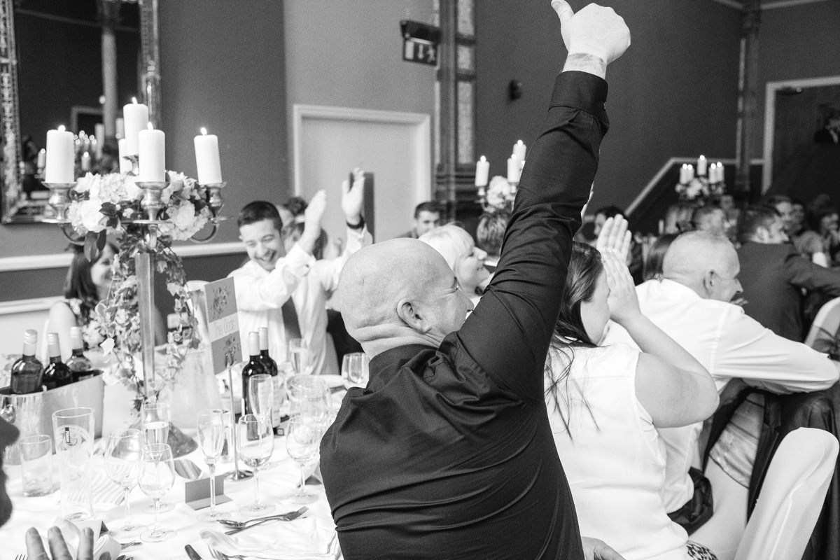 Cheers. Wedding Photographer Manchester and Cheshire