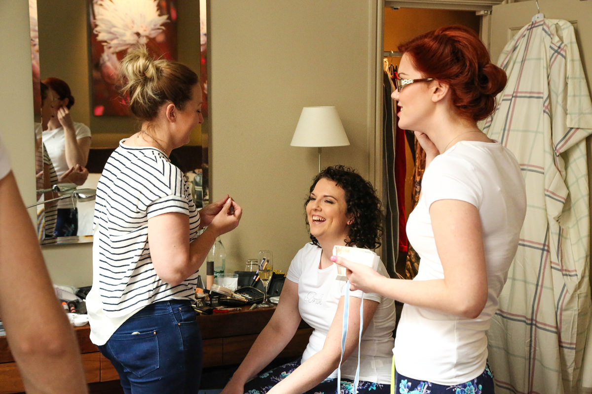 Getting Ready Wedding Photographer Manchester and Cheshire