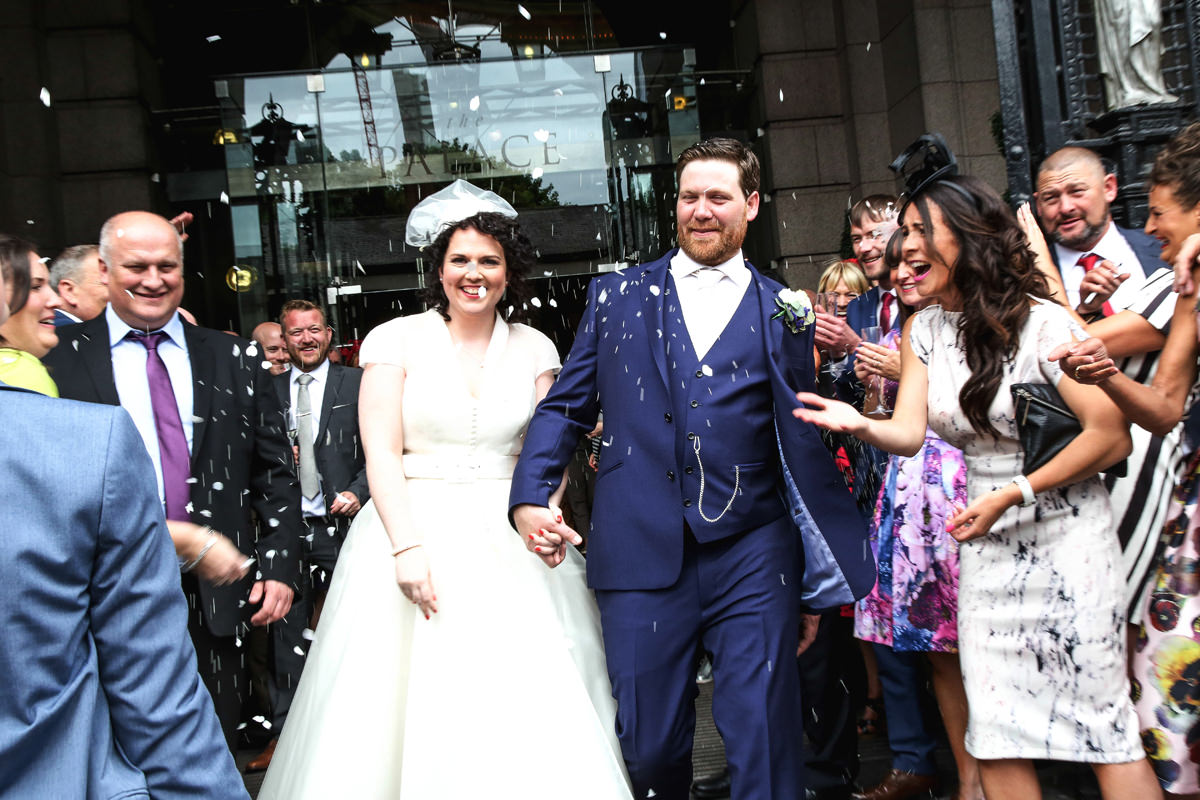 Confetti, Wedding Photographer Manchester and Cheshire. Palace Hotel Manchester.