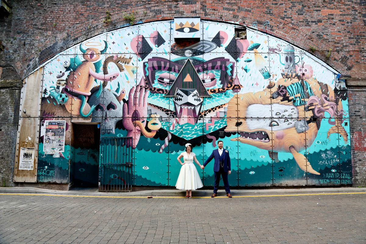 Urban Wedding Photography. Wedding Photographer Manchester and Cheshire.