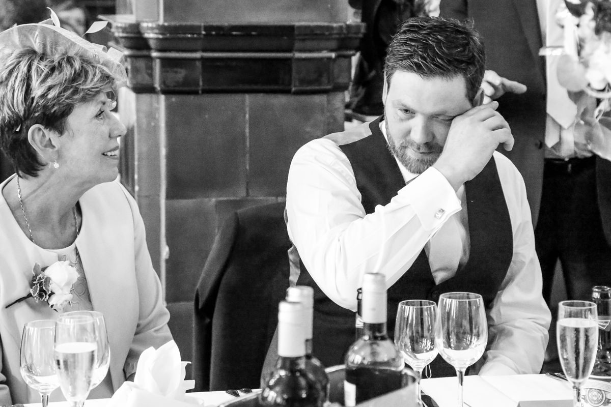 Candid Moments. Wedding Photographer Manchester and Cheshire