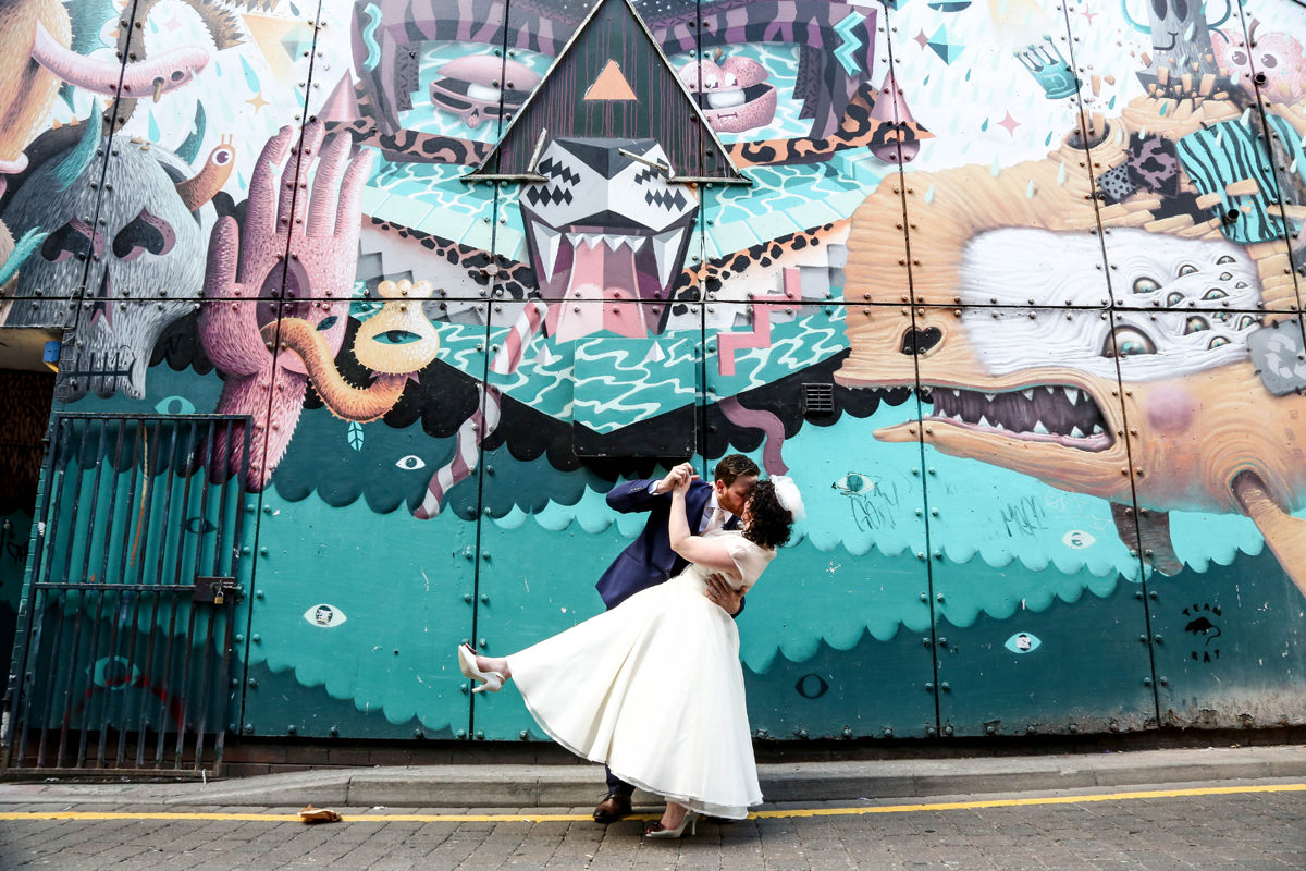 Alternative Wedding Photographer Manchester and Cheshire