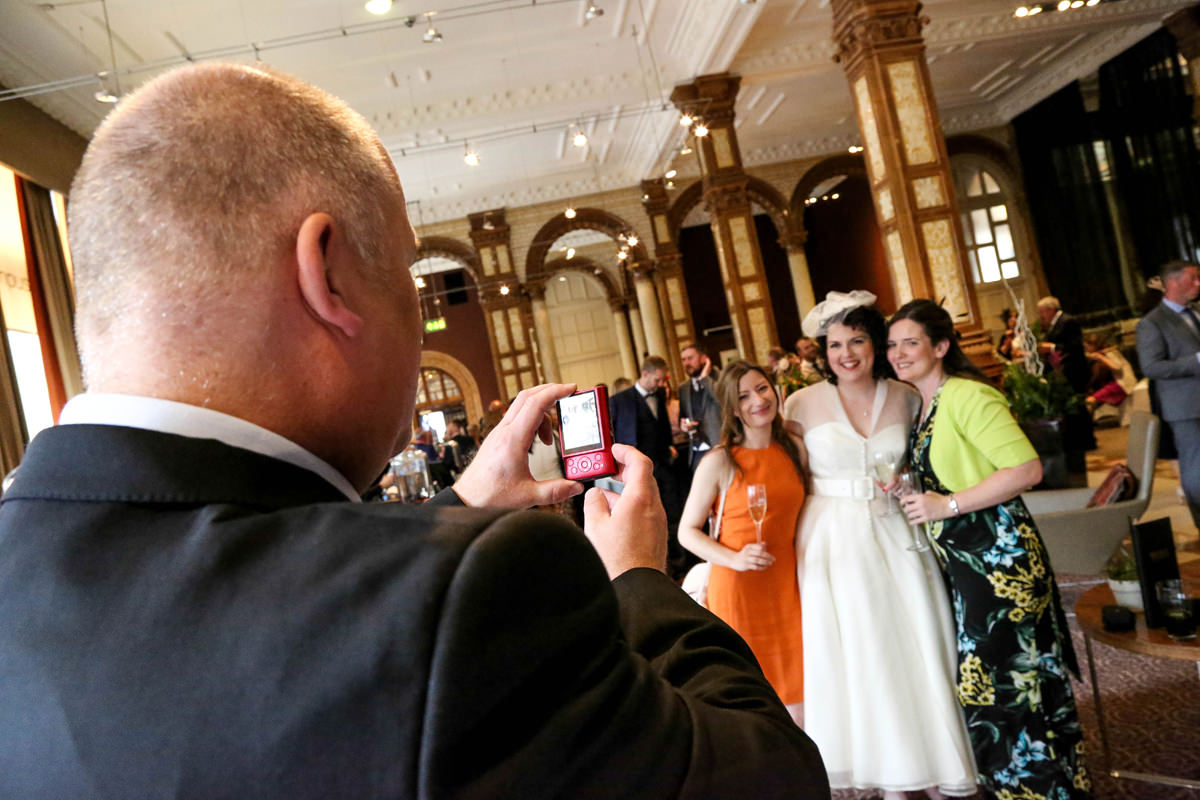 Guest Photographer, The Palace Hotel Manchester. Wedding Photographer Manchester and Cheshire.